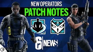 Patch Notes Shifting Tides - Kali Wamai - Attacker Defender - Rainbow Six Siege