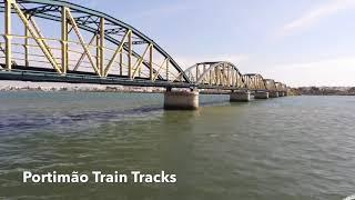 Parrot Anafi Train Tracks