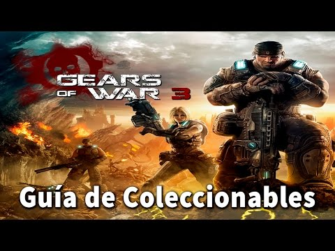 Gears of war 3 - Localización de todos los coleccionables (All Collectibles Locations)
