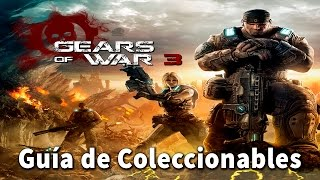 Gears of war 3 - Localización de todos los coleccionables // All Collectible Locations