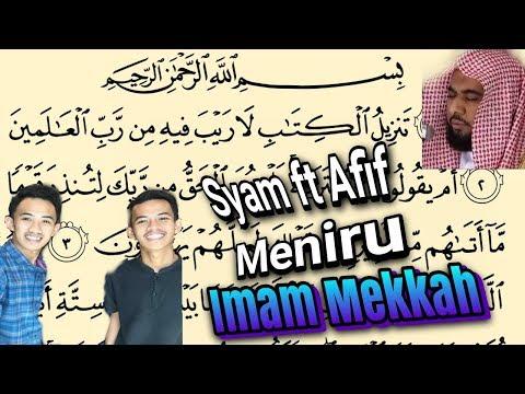 Download Lagu Syam ft Afif Surah As Sajadah versi Imam Mekkah (Ros)