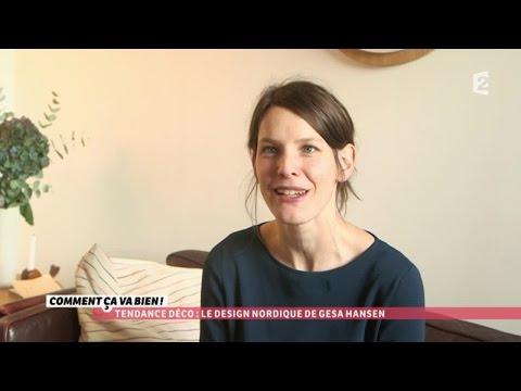 [TENDANCE DÉCO] Design nordique avec Gesa Hansen #CCVB
