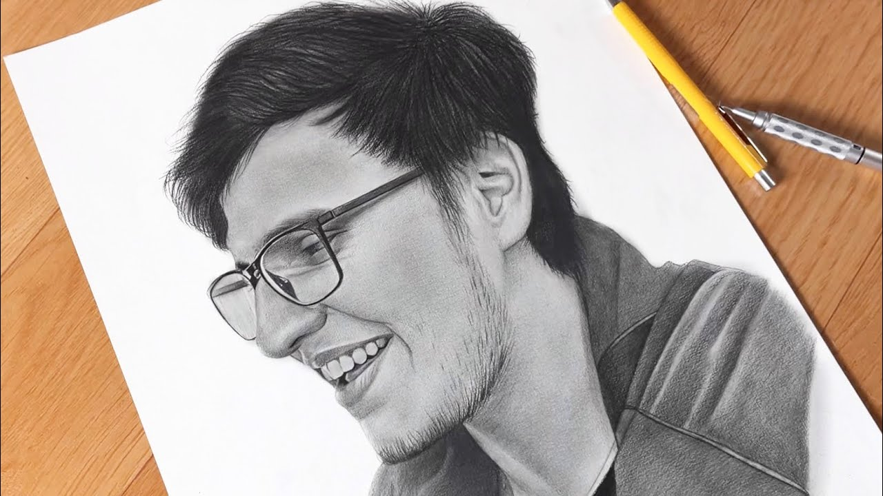Drawing Triggered Insaan 😍( Timelapse )