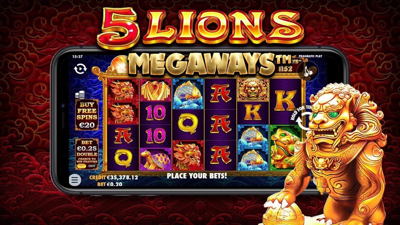 permainan slot 5 lions megaways dari pragmatic play