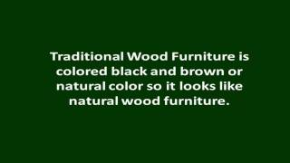 Wood Furniture Designs | Contemporary And Traditional Wood Furniture Designs Tips