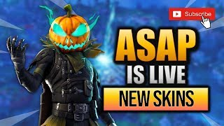 FORTNITE // HOLLOWHEAD SKIN // GAMEPLAY //SEASON 6 // 500 SUB GRIND // LEAKED SKINS //
