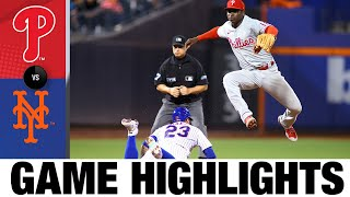 Phillies vs. Mets Game Highlights (9/18/21) | MLB Highlights