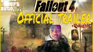 Fallout 4 Official Debut Trailer + Review - (Gta 5 online Gameplay) RLG