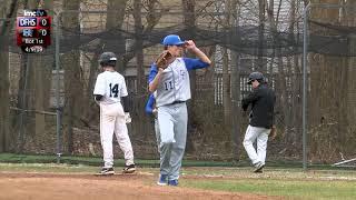 LMC Varsity Sports - Baseball - Dobbs Ferry at Rye Neck - 4/9/19