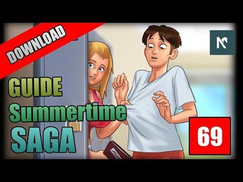 Alur Cerita Summertime Saga - Game Simulasi Kencan Android | #RESI
