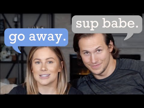 OUR FIRST CONVERSATION sliding into the DMs *cringe*  shawn johnson  andrew east