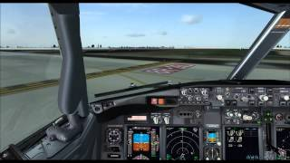 FSX | PMDG 737 NGX | Departure From Atlanta on Vatsim