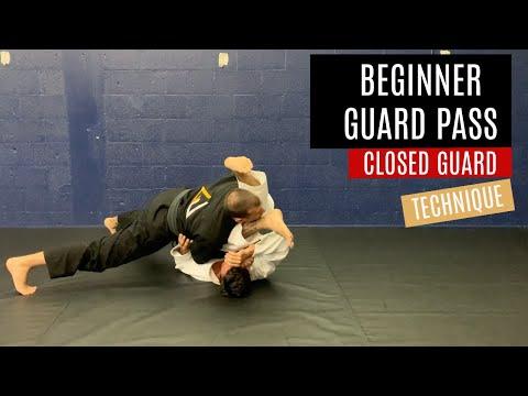 Basic Beginner Closed Guard Pass Judo & Jiu Jitsu | Grappling University