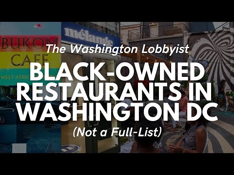 Black-Owned Restaurants in Washington, DC 2021| 202DC