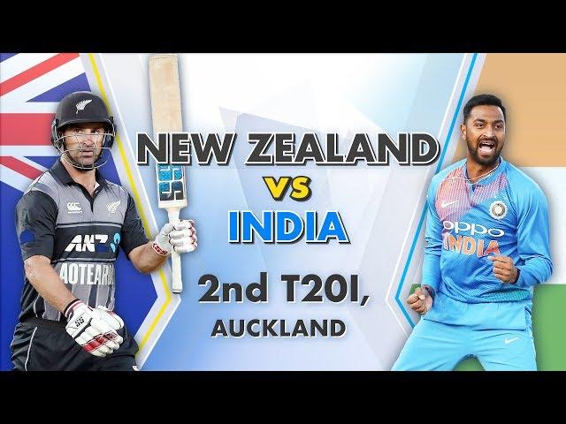 New Zealand vs India, 2nd T20I: Match Story