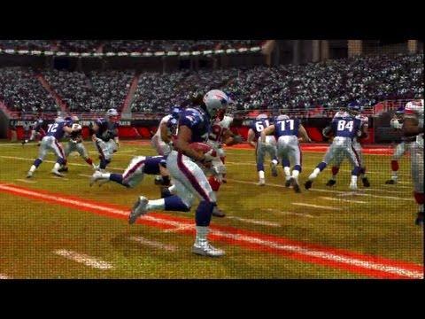 NFL 2007 Super Bowl XLII - New York Giants vs New England Patriots - 4th Qrt - Madden