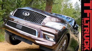 2015 Infiniti QX80 Takes on the Gold Mine Hill Off-Road Review