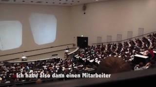 Papierflieger & Rauswurf im Mathevorkurs - Uni Stuttgart - 2011