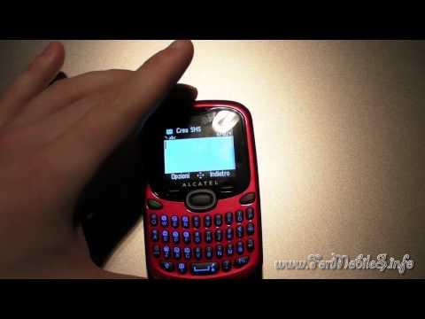 Come evitare ritardi nella scrittura dei messaggi con Alcatel OT-255D