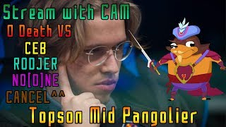 Topson Mid Pango vs Ceb, Rodjer, Noone and Cancel - Dota 2 Pro Player Highlight