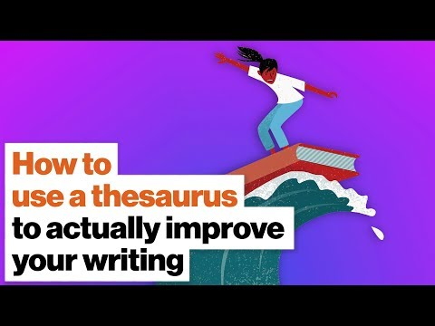 How to use a thesaurus to actually improve your writing   Martin Amis