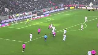 Juventus-Catania 3-1 (18/02/2012) , Highlights