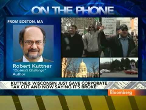 Kuttner Calls Wisconsin Worker Issues `Class Warfare'
