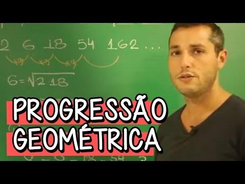 Resumo para o ENEM: Progressão Geométrica - Matemática | Descomplica