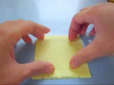 How To : Ep. 39 | Make Your Own Resealable Seed Envelopes w/ Post-It Notes