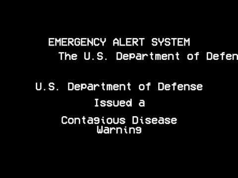 Zombie Infection EAS Alert