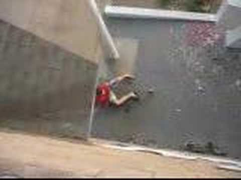 Falling Off A Roof Youtube