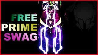 [Warframe] Obtenir une syandana prime gratuite + Frost prime (vistapa)