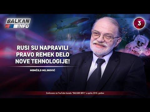 INTERVJU: Momčilo Milinović - Rusi su napravili pravo remek-delo nove tehnologije! (28.4.2019)