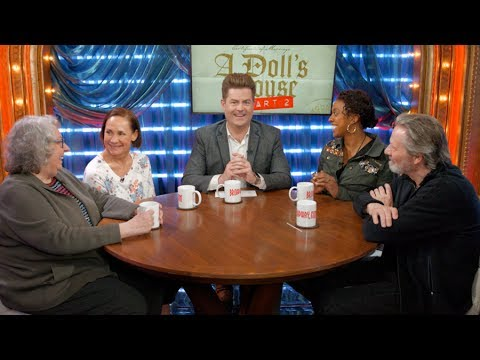 A DOLL'S HOUSE, PART 2 Roundtable wLaurie Metcalf, Chris Cooper, Jayne Houdyshell & Condola Rashad
