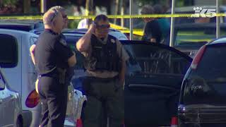 Raw: Scene of shooting at Tumwater Walmart