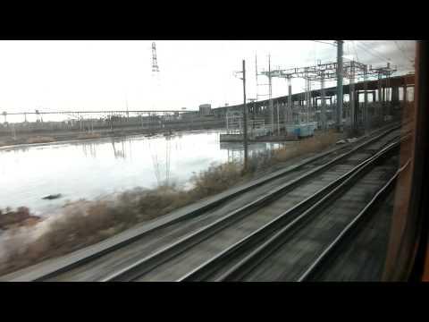 NJT Arrow III ride fron New York Penn Station To Newark Airport
