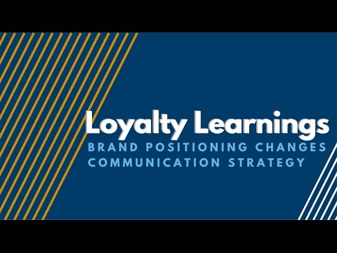 positioning and brand loyalty Brand connectix provides branding, strategic and integrated marketing, sales  and innovation strategy and customer loyalty consulting we also offer marketing .