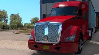 American Truck Simulator - New Mexico - Tucumcari to Raton - Gameplay (PC HD) [1080p60FPS]