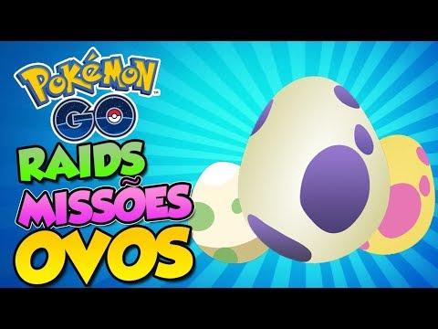 NOVA LISTAS DE OVOS,RAIDS,QUESTS  - Pokémon Go | PokeNews thumbnail