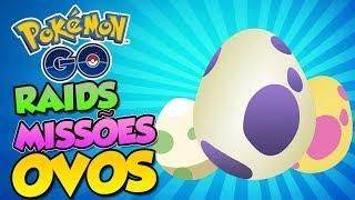 NOVA LISTAS DE OVOS,RAIDS,QUESTS  - Pokémon Go   PokeNews