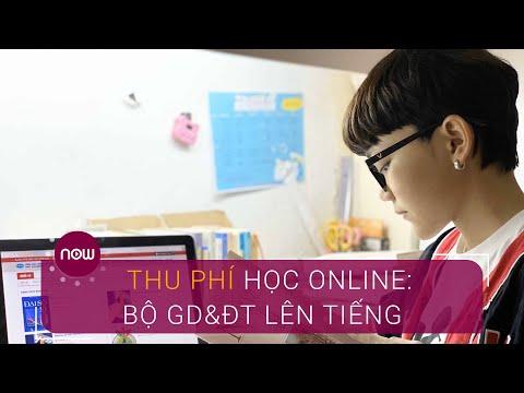 Thu phí học online: Bộ GD&ĐT lên tiếng | VTC Now