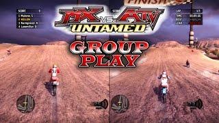 MX vs ATV Untamed - Group Play - Variety!