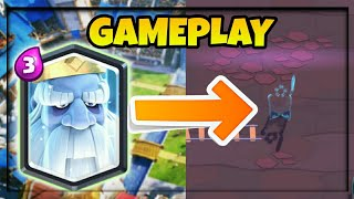 NEW LEGENDARY ROYAL GHOST GAMEPLAY | Clash Royale