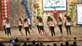 Посвящение в лицеисты,танец 10А Клен 2010