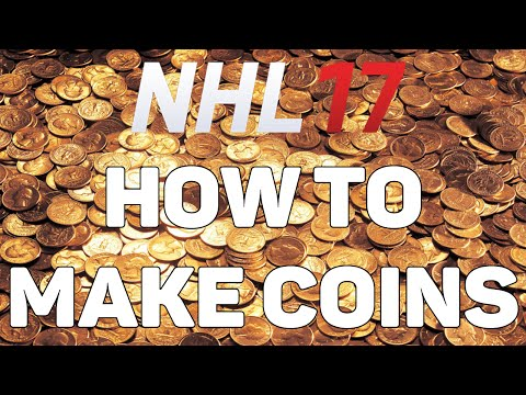 NHL 17 HUT - HOW TO MAKE COINS 'FAST AND EASY' (10 Different Methods)