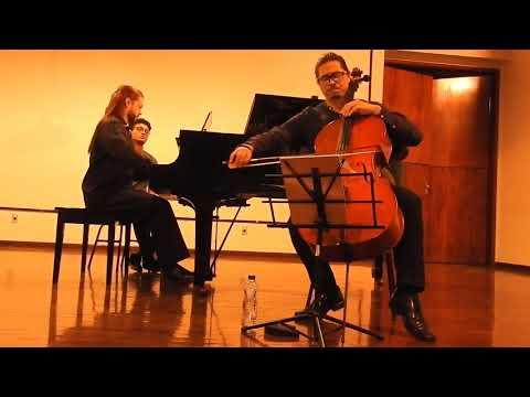 Piazzolla - Le Grand Tango (cello/piano) - Kayami Satomi E Thiago De Freitas