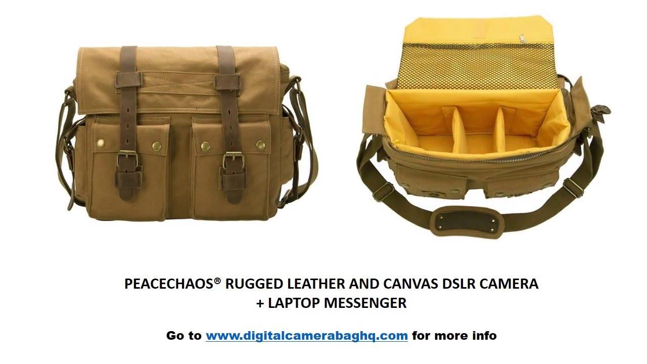 3 Best Canvas DSLR Messenger Bags Under  75 - YouTube af5c825e2d
