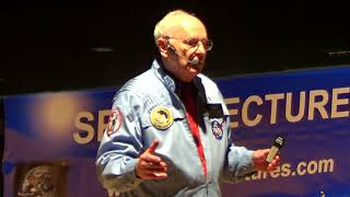 Alan Bean Apollo 12 lecture Pontefract UK Spacelectures October 12 2013