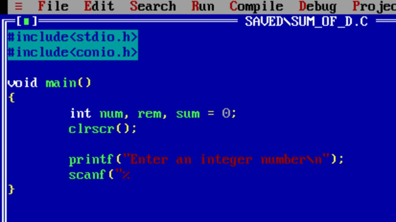 C Program to find Sum of N Numbers using Recursion