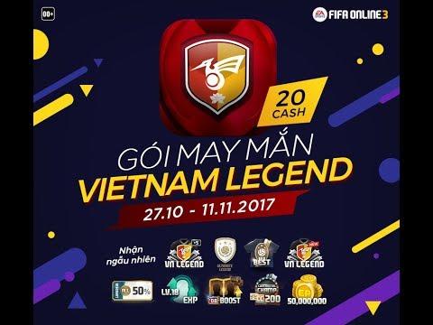 Review gói may mắn Việt Nam Legend